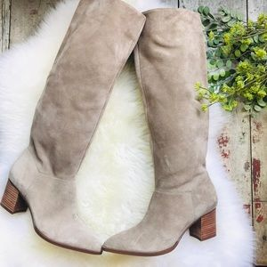 SOLE SOCIETY suede boots sz 6.5 women's NEW